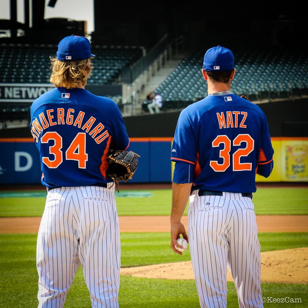Noah Syndergaard & Steven Matz