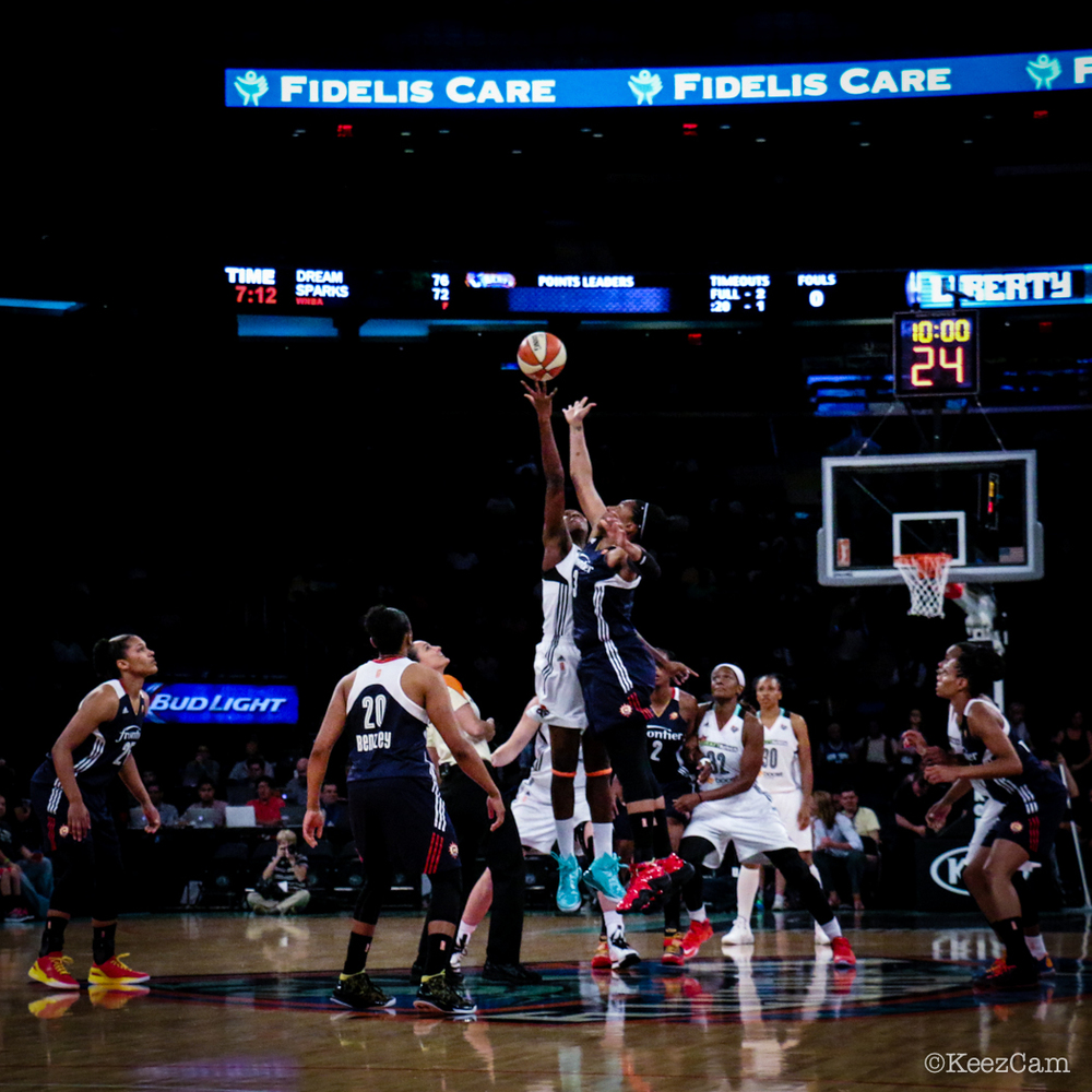 WNBA  Tip-off at Madison Square Garden