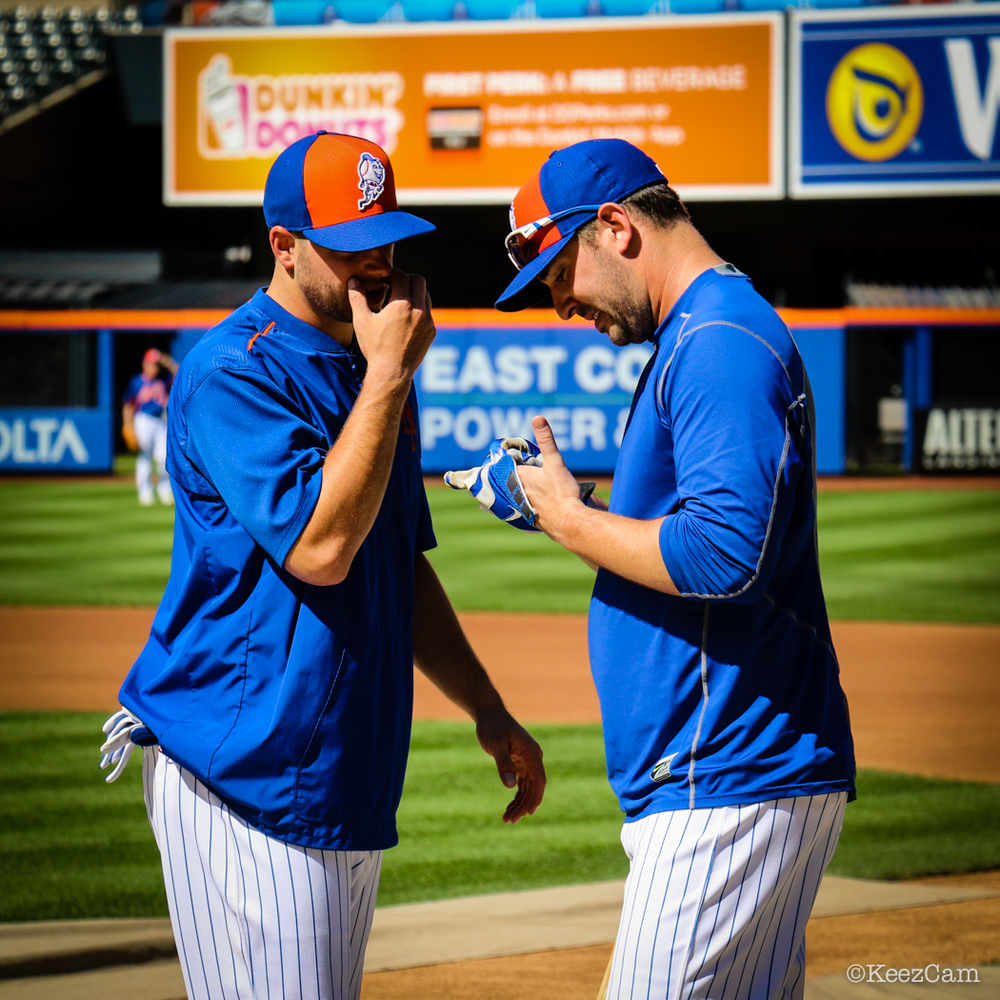 Kevin Plawecki & Matt Harvey