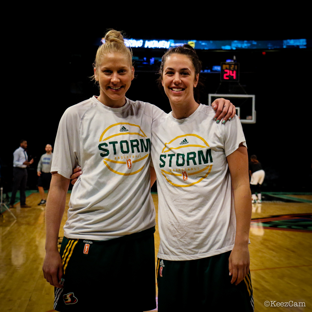 Abby Bishop & Jenna O'Hea