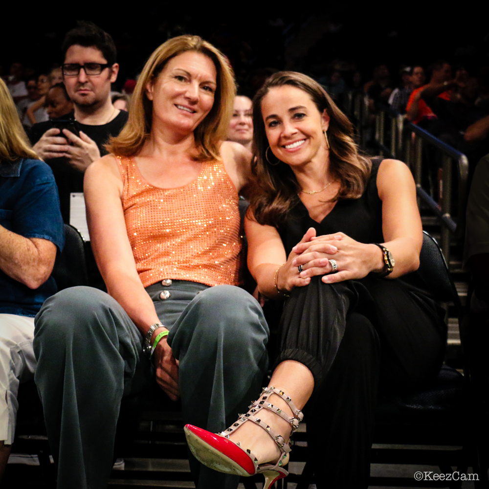 Sue Wicks & Becky Hammon