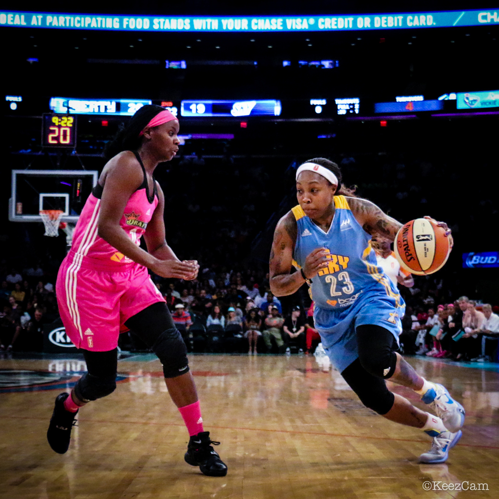 Sugar Rogers & Cappie Pondexter