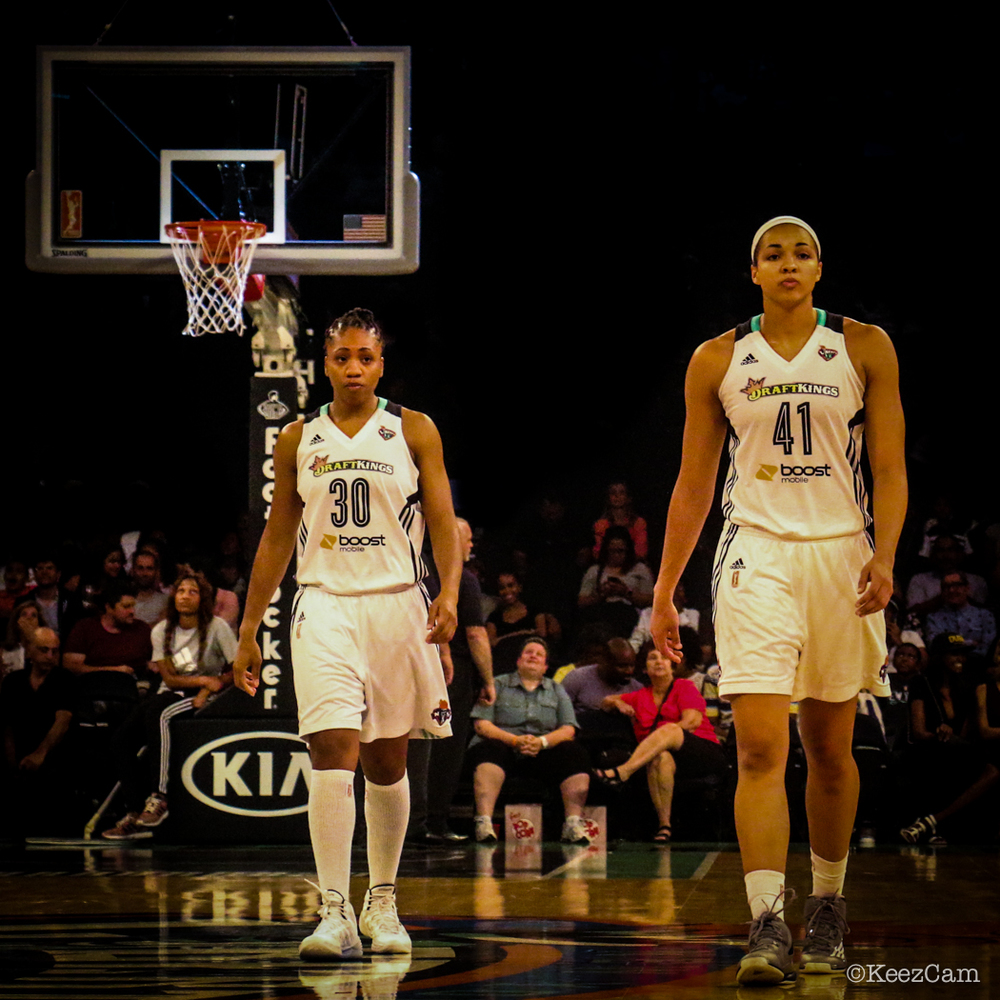 Tanisha Wright & Kiah Stokes