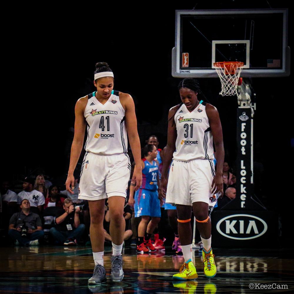 Kiah Stokes & Tina Charles