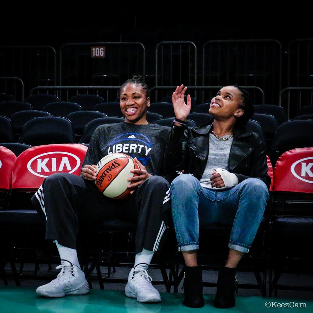 Tanisha Wright & Brittany Boyd