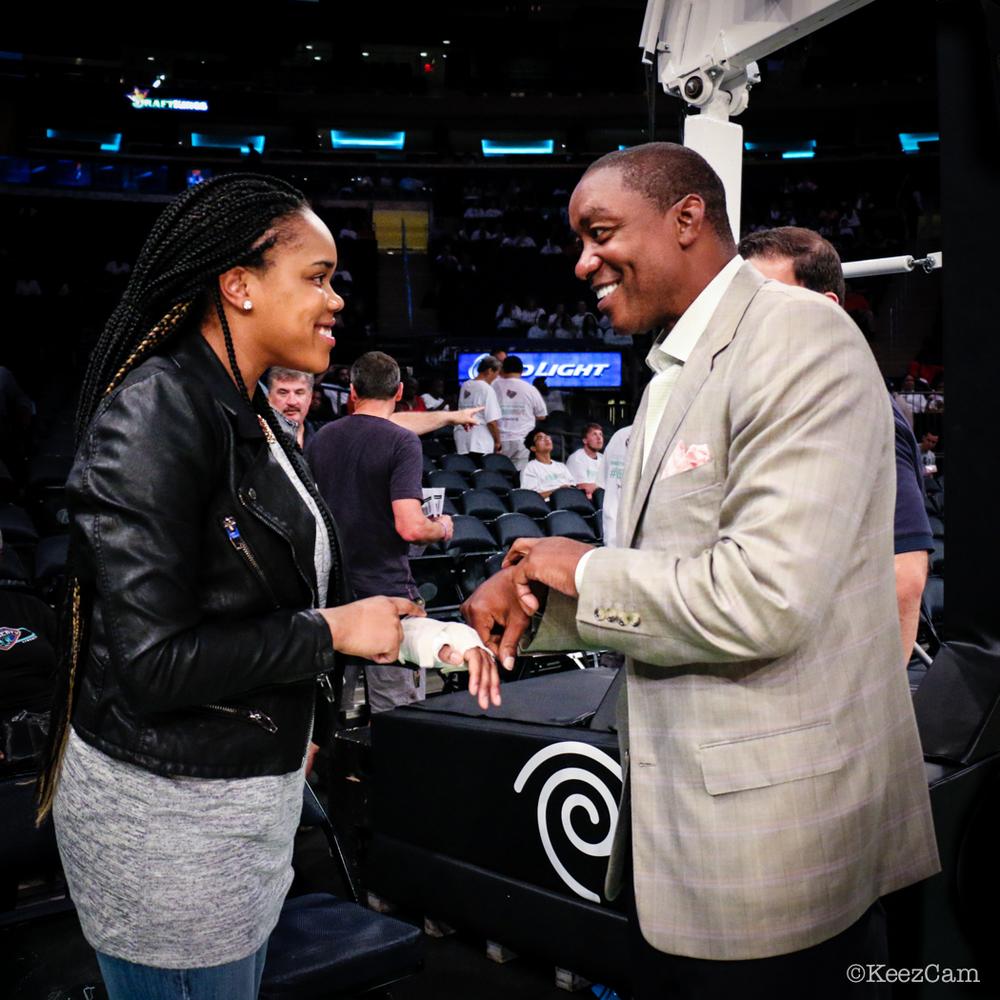 Brittany Boyd & Isiah Thomas