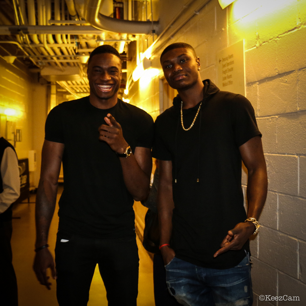 Thanasis Antetokounmpo & Cleanthony Early