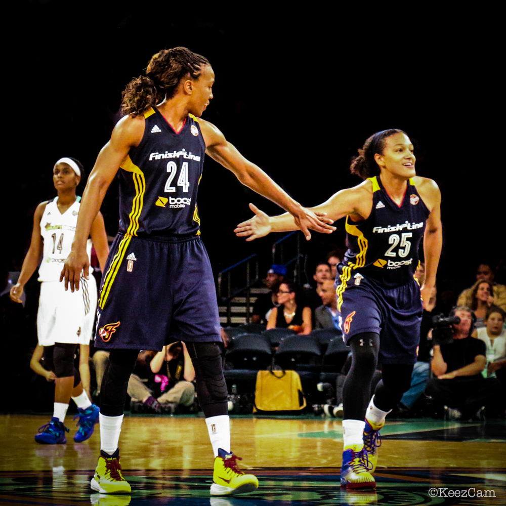 Tamika Catchings & Marissa Coleman