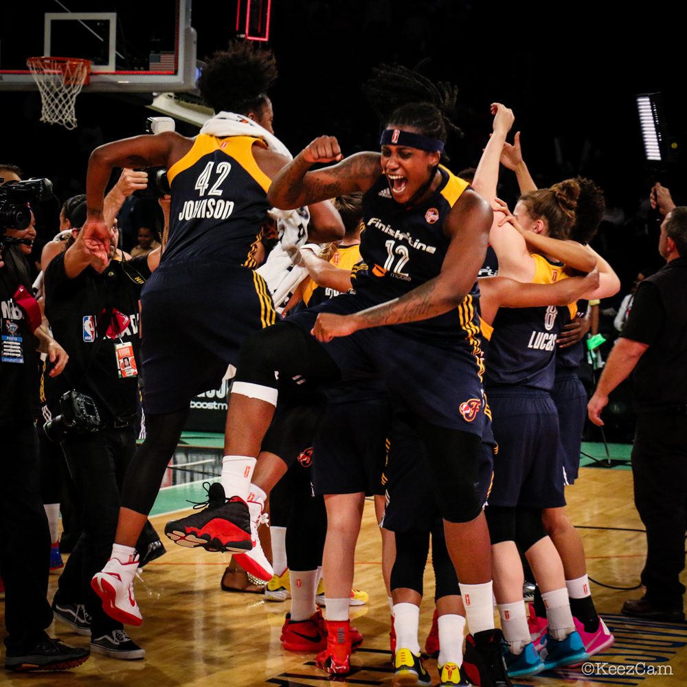 Indiana Fever Celebration at MSG