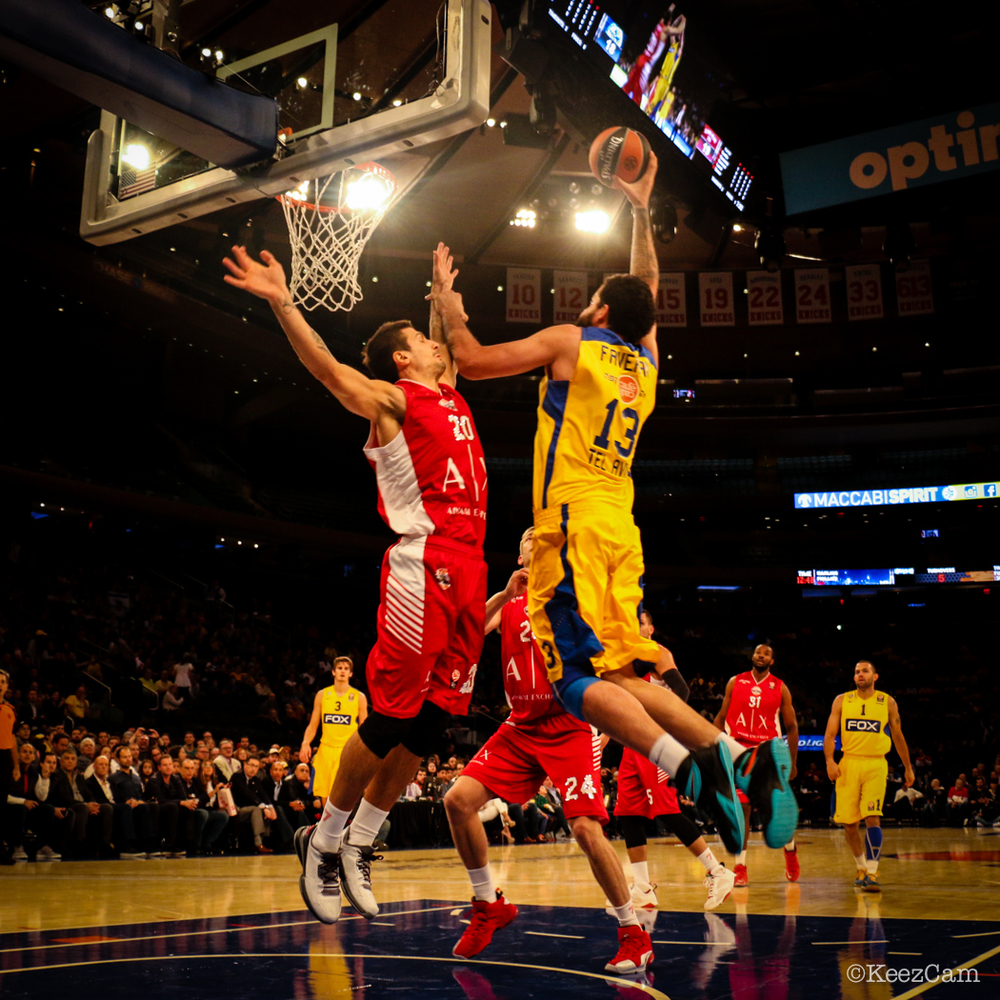 Euro League action at Madison Square Garden
