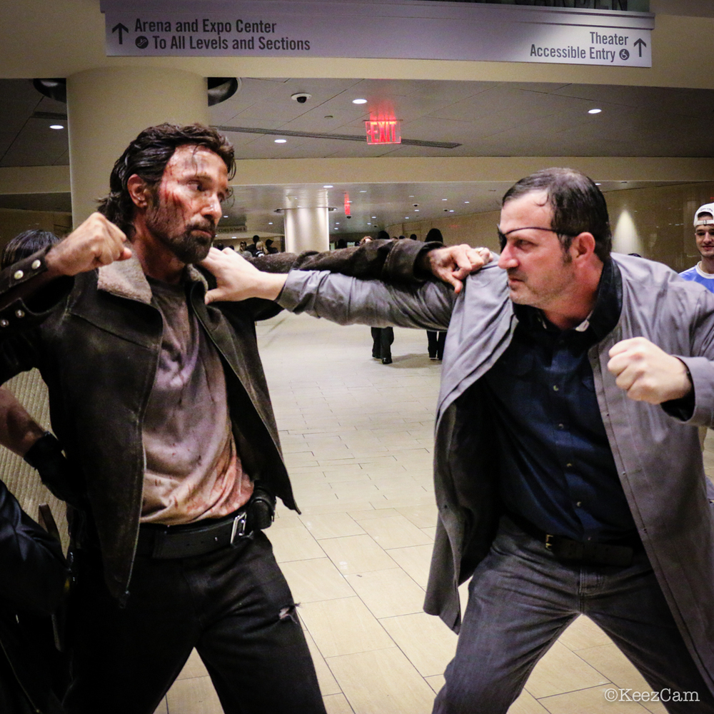 Rick Grimes & The Governor