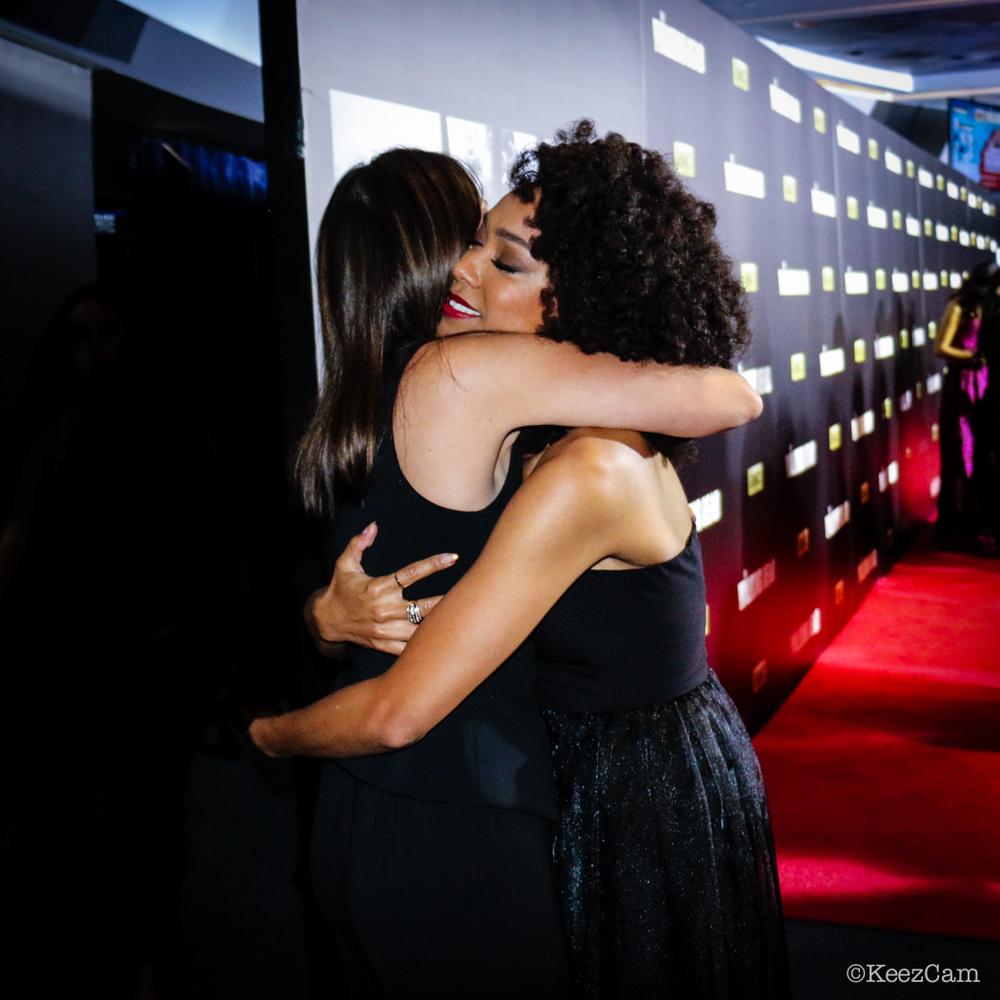 Elizabeth Rodriguez & Sonequa Martin-Green