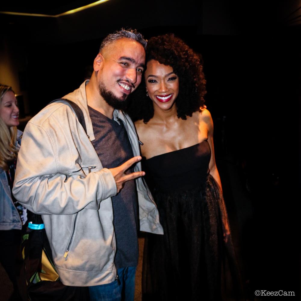 Keez & Sonequa Martin-Green