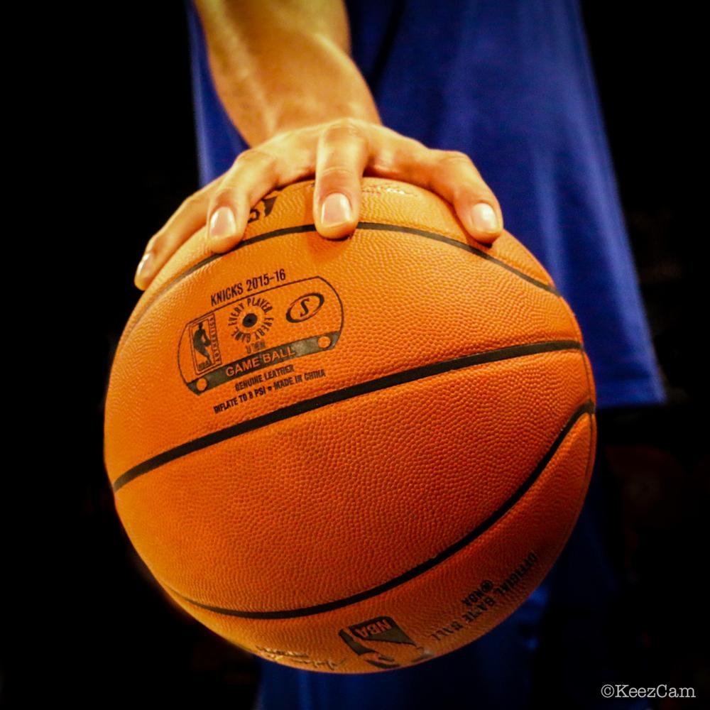 Philadelphia 76'ers C Jahlil Okafor at Madison Square Garden
