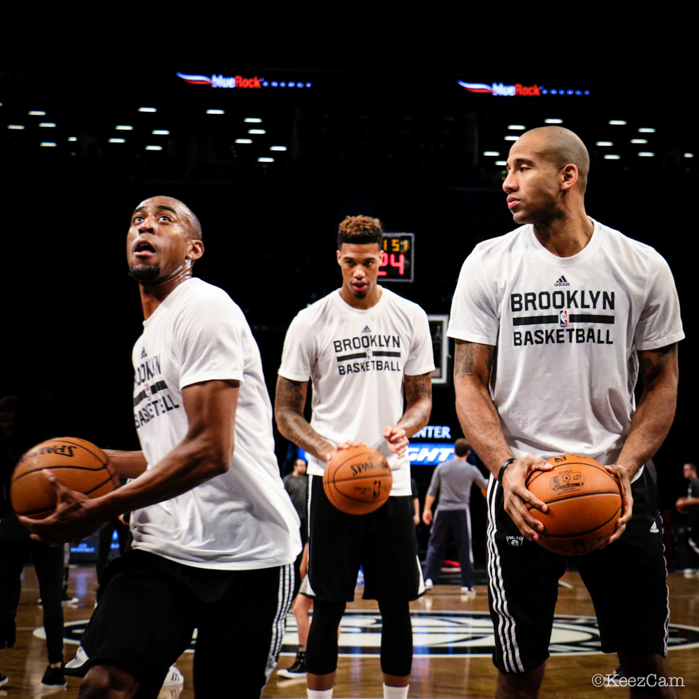 Markel Brown, Chris McCullough & Dahntay Jones