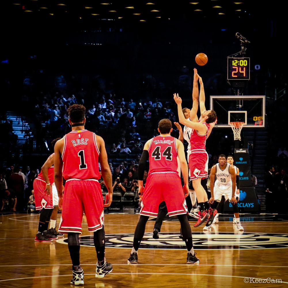 NBA 2015-16 Tip Off in Brooklyn
