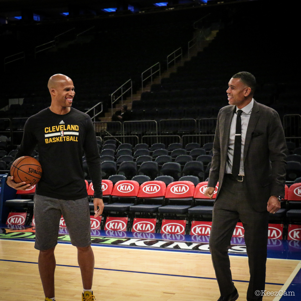 Richard Jefferson & Allan Houston