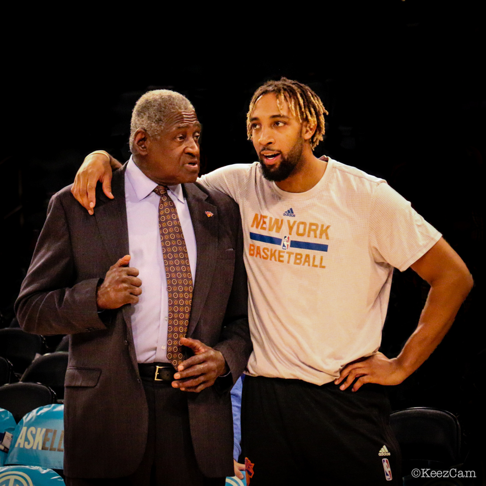 Willis Reed & Derrick Williams