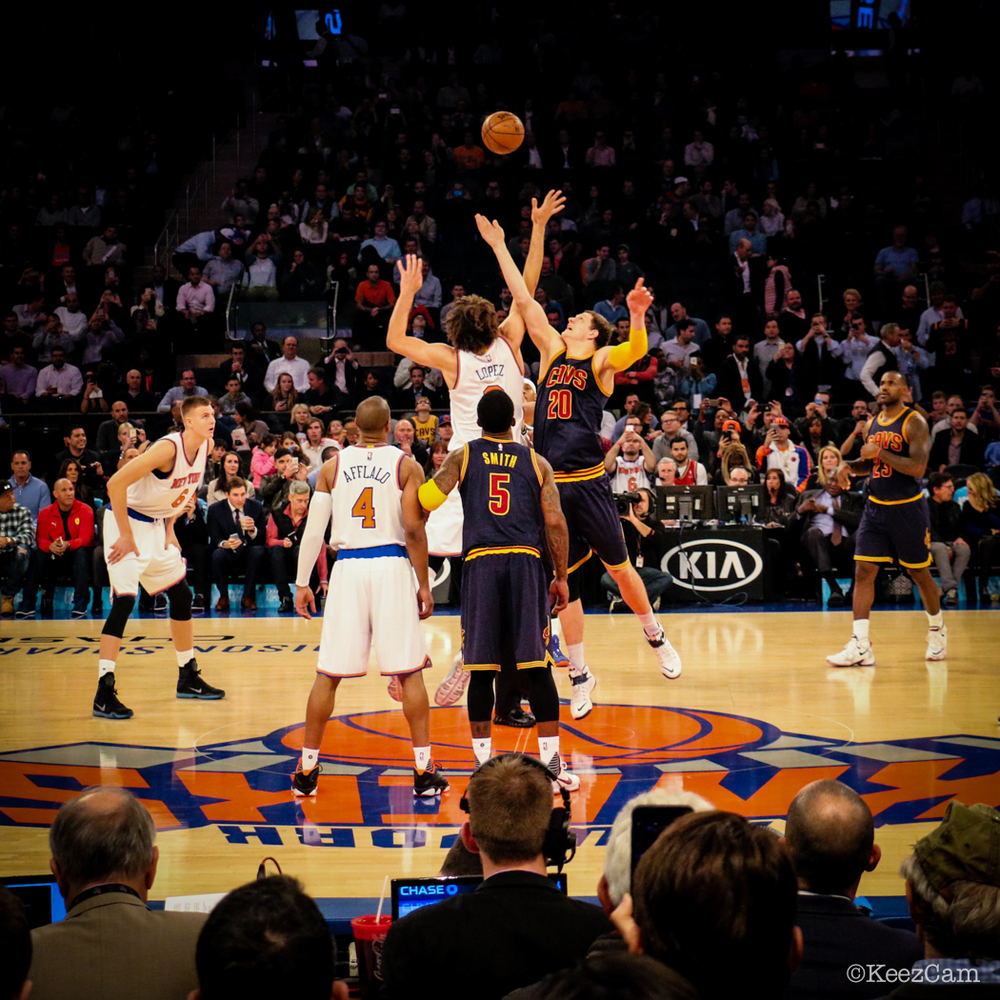 Cleveland Cavaliers vs. New York Knicks at Madison Square Garden