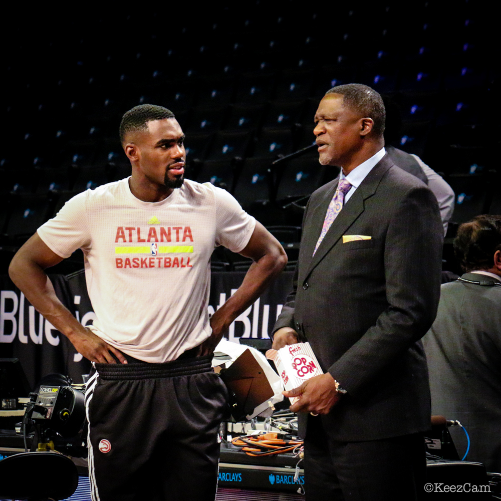 Tim Hardaway Jr. & Dominique Wilkins