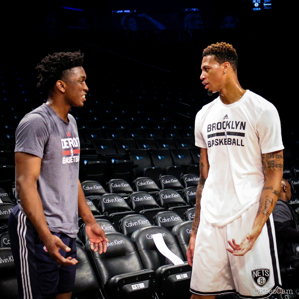 Stanley Johnson & Chris McCullough