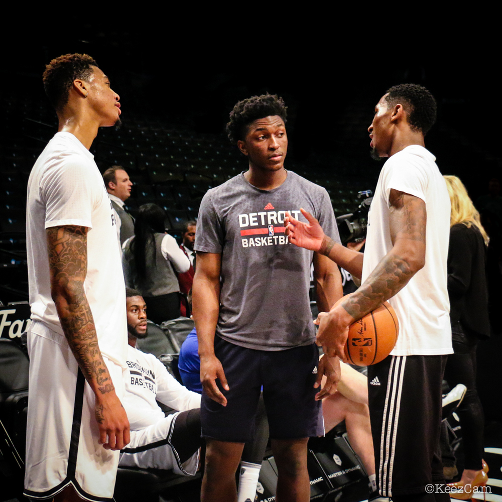 Chris McCullough, Stanley Johnson & Rondae Hollis-Jefferson