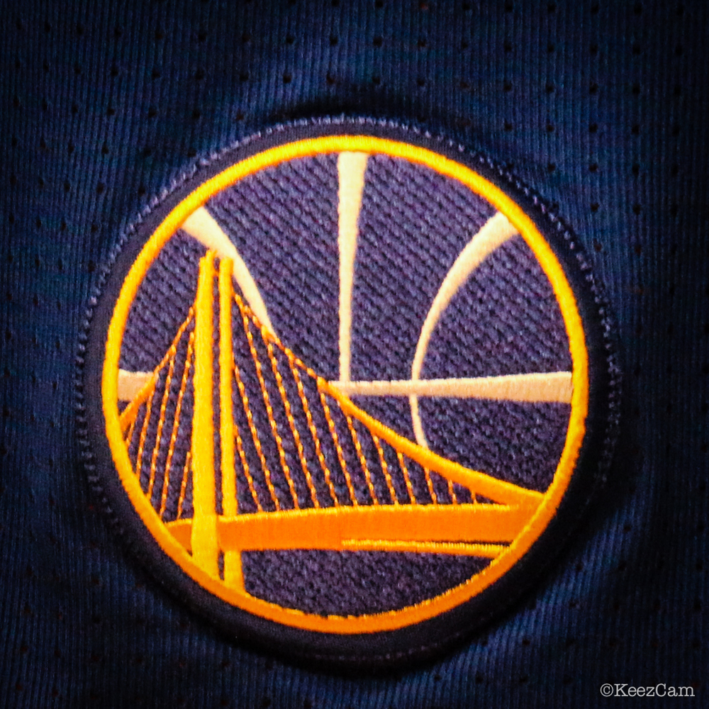 Golden State Warriors patch