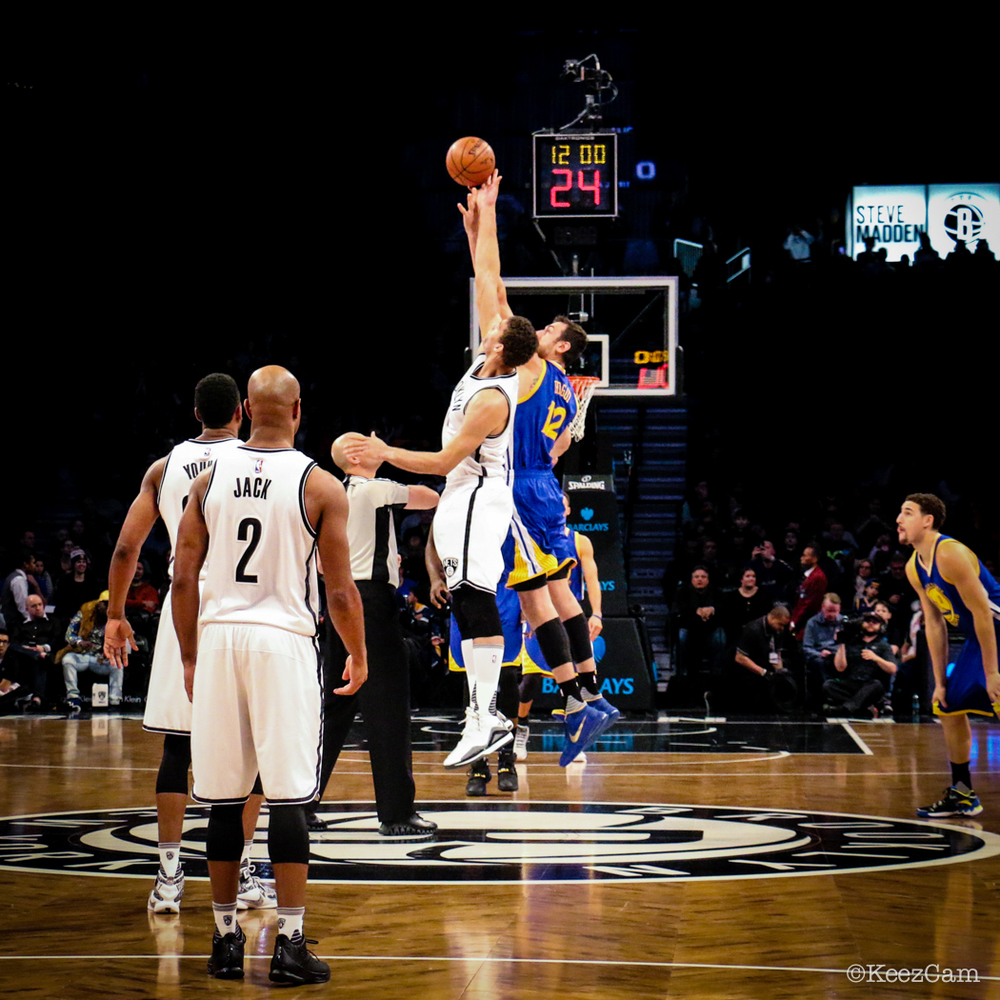 Golden State Warriors vs. Brooklyn Nets tipoff