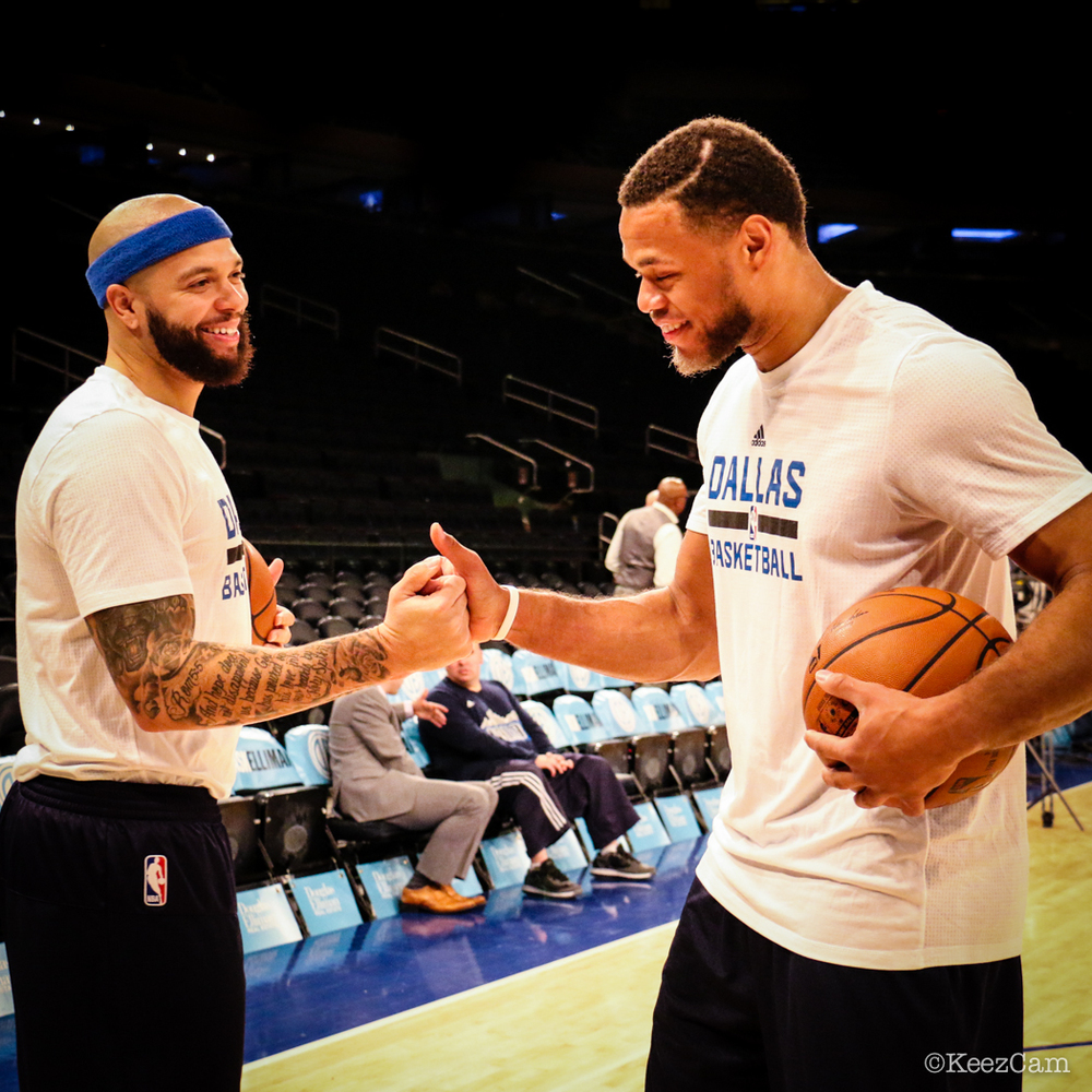 Deron Williams & Justin Anderson