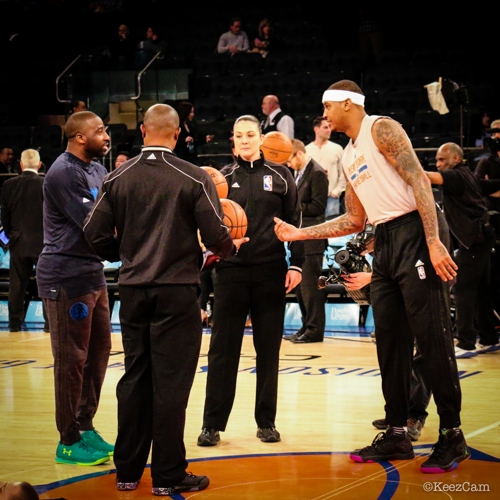 Raymond Felton & Carmelo Anthony
