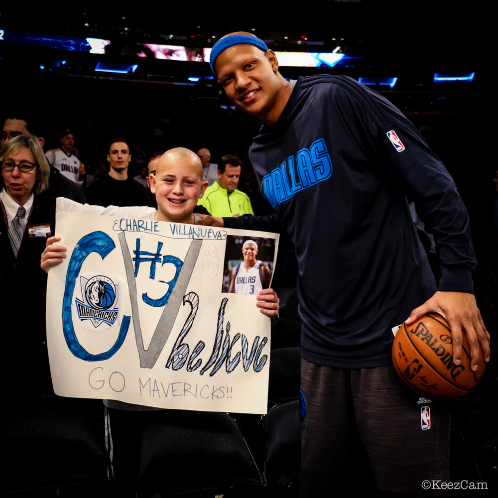 Charlie Villanueva & fan