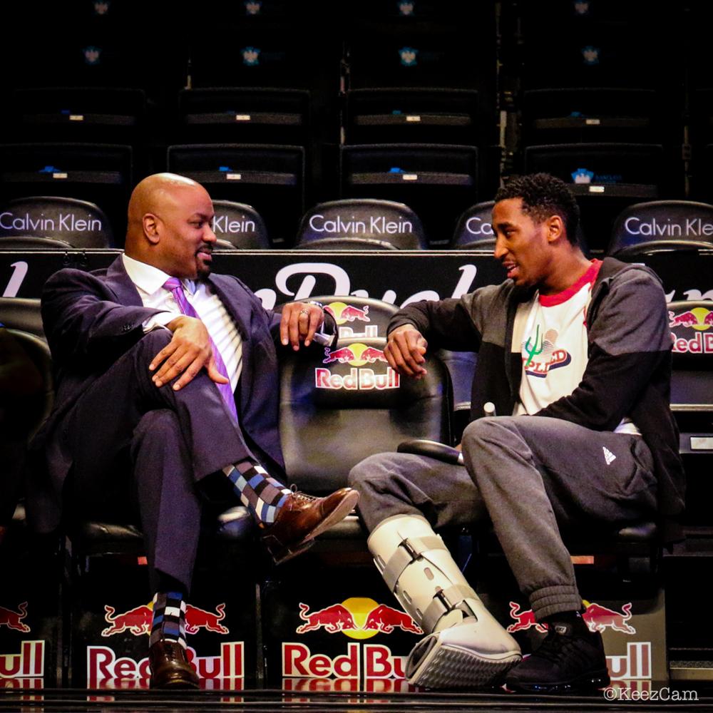 Billy King & Rondae Hollis-Jefferson