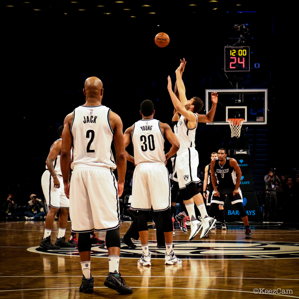 Miami Heat vs. Brooklyn Nets Tip-Off