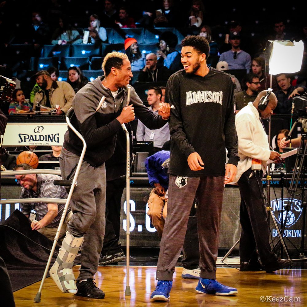 Rondae Hollis-Jefferson & Karl Towns