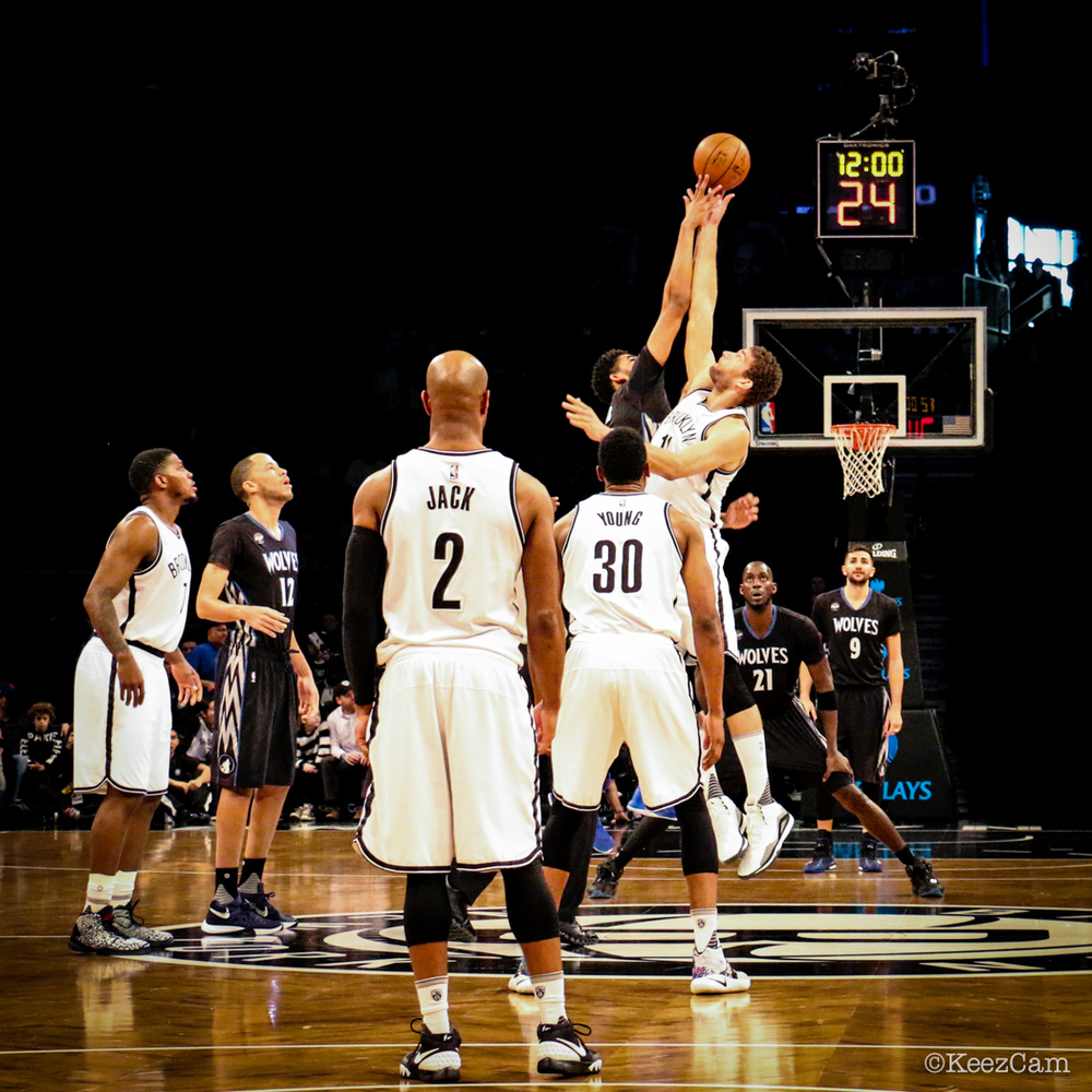 Minnesota Timberwolves vs. Brooklyn Nets Tip-Off