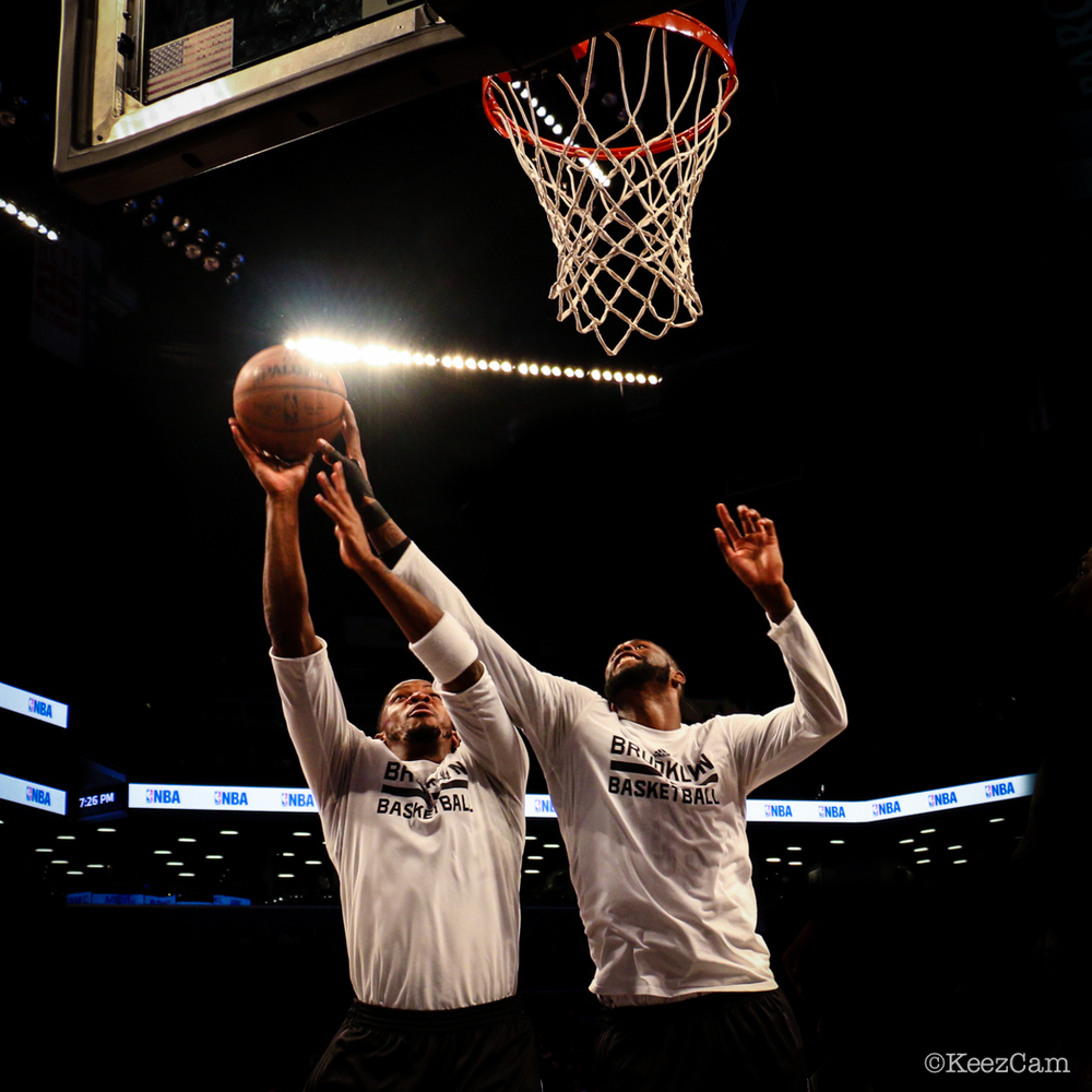 Joe Johnson & Willie Reed