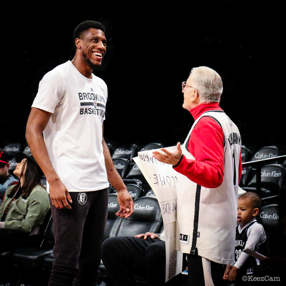 Thaddeus Young & Mr. Whammy