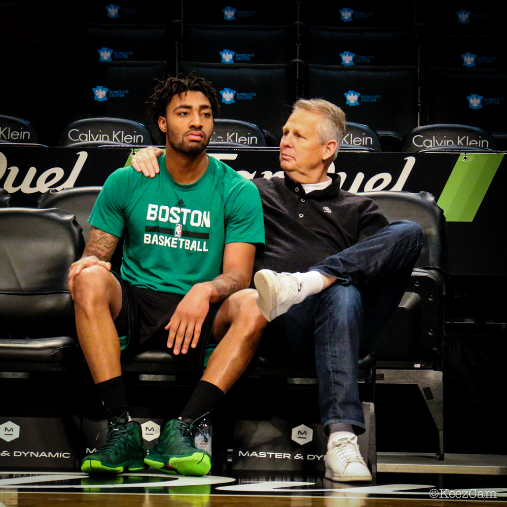 James Young & Danny Ainge