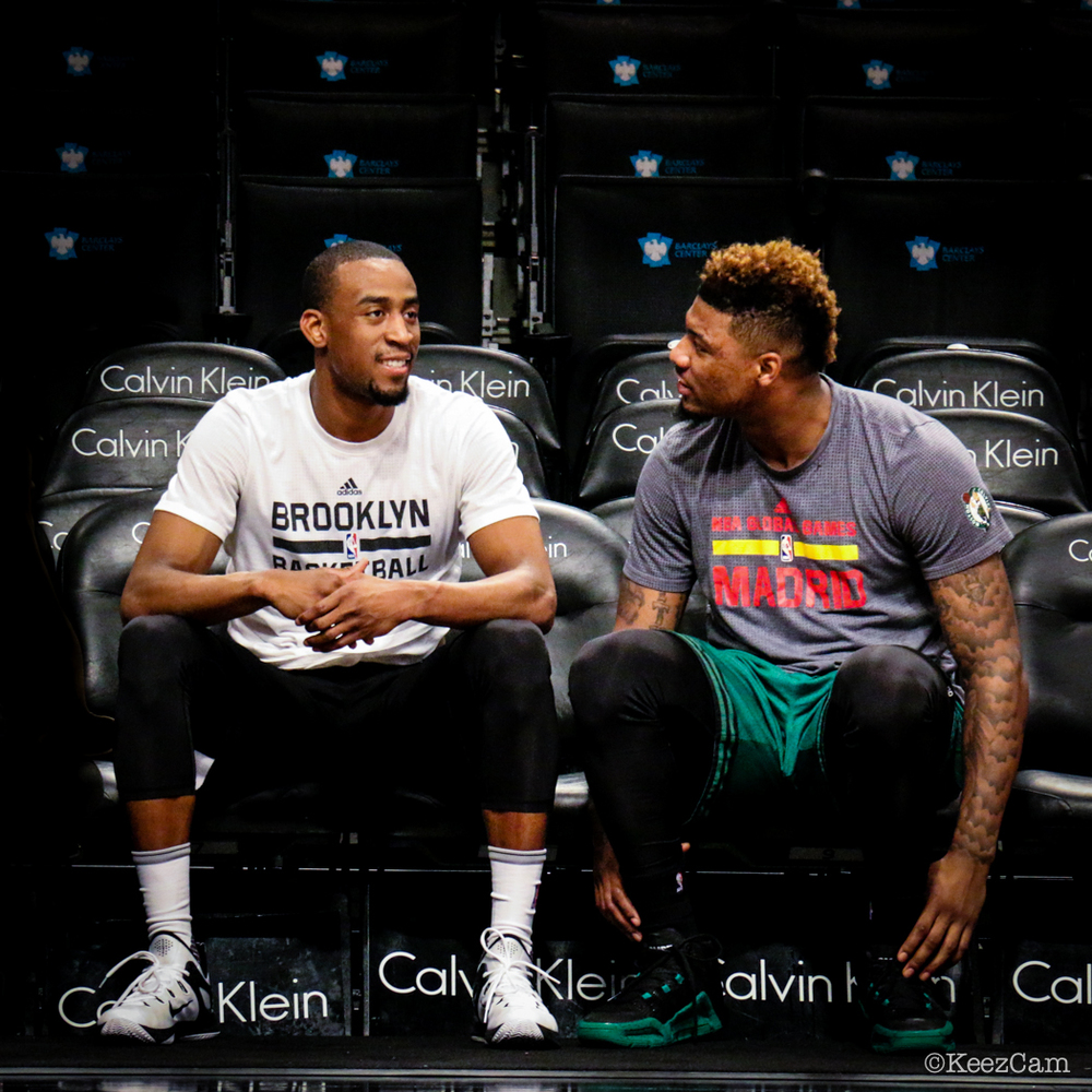 Markel Brown & Marcus Smart