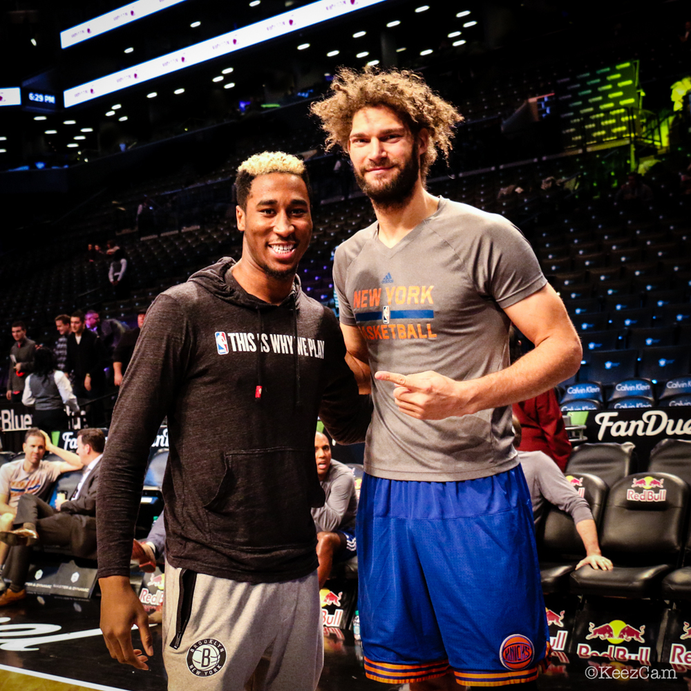 Rondae Hollis-Jefferson & Robin Lopez