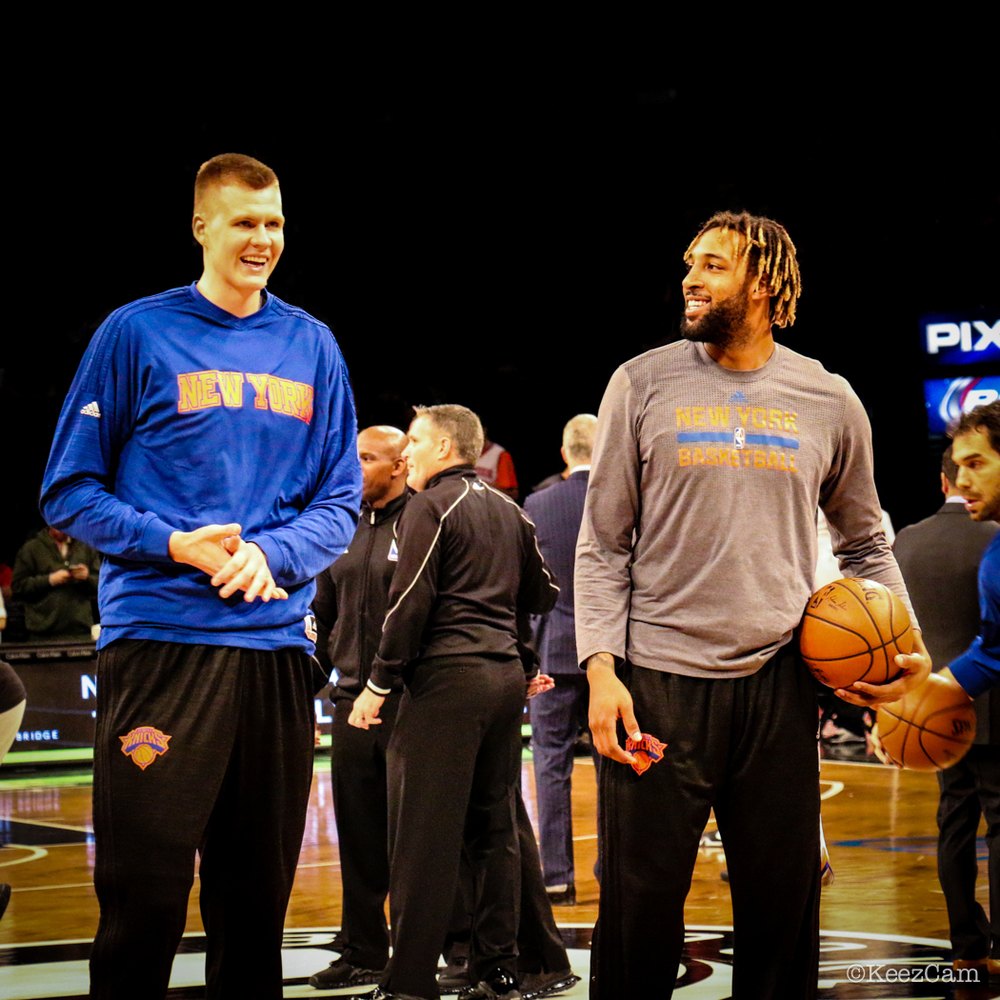 Kristaps Porzingis & Derrick Williams