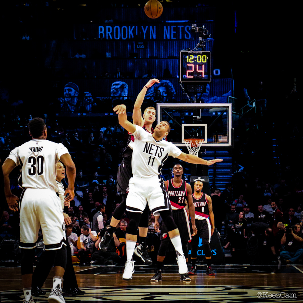 Portland Trail Blazers vs. Brooklyn Nets tip-off at Barclays Center