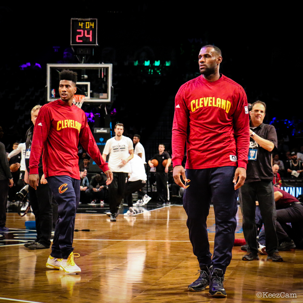 Iman Shumpert & LeBron James