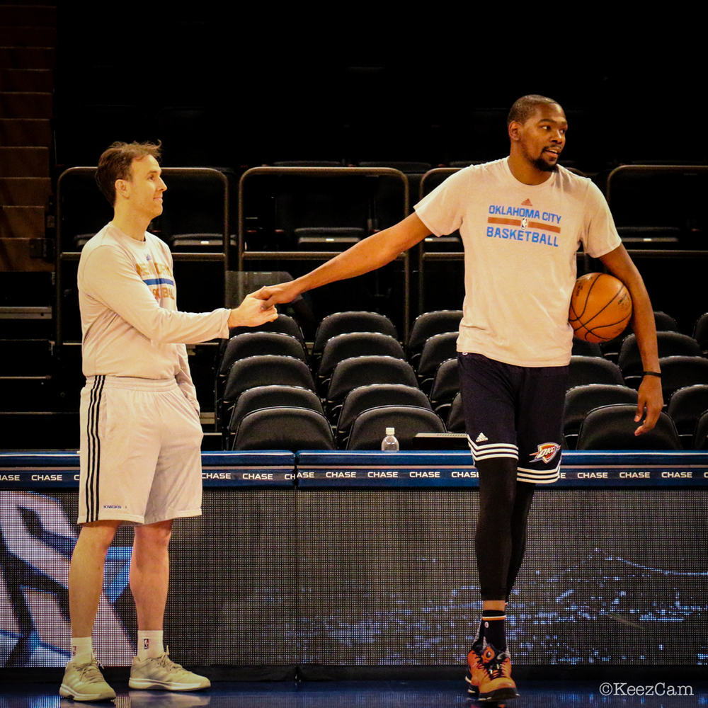 Brian Keefe & Kevin Durant