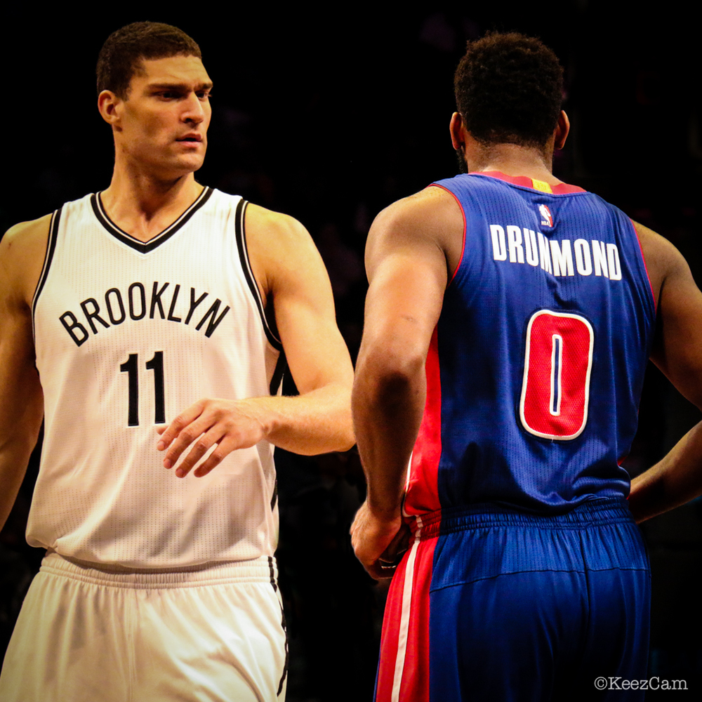 Brook Lopez & Andre Drummond