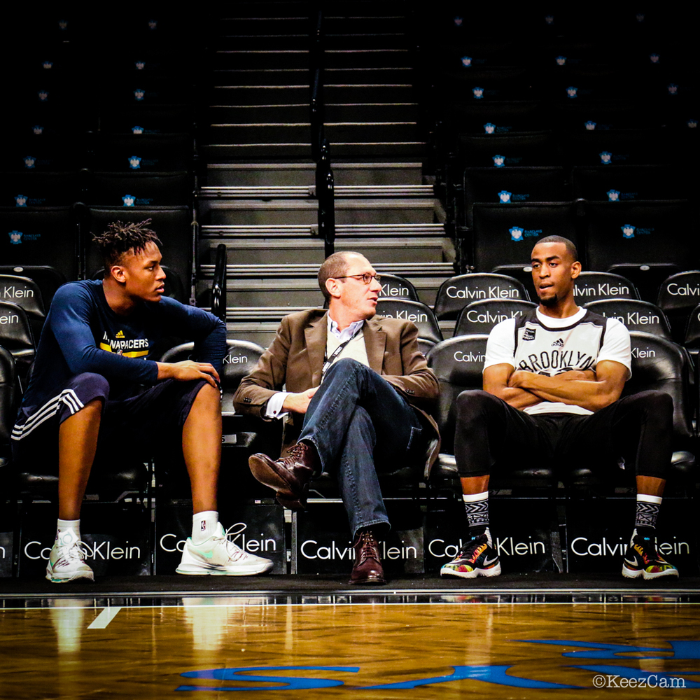 Myles Turner, Andy Miller & Markel Brown