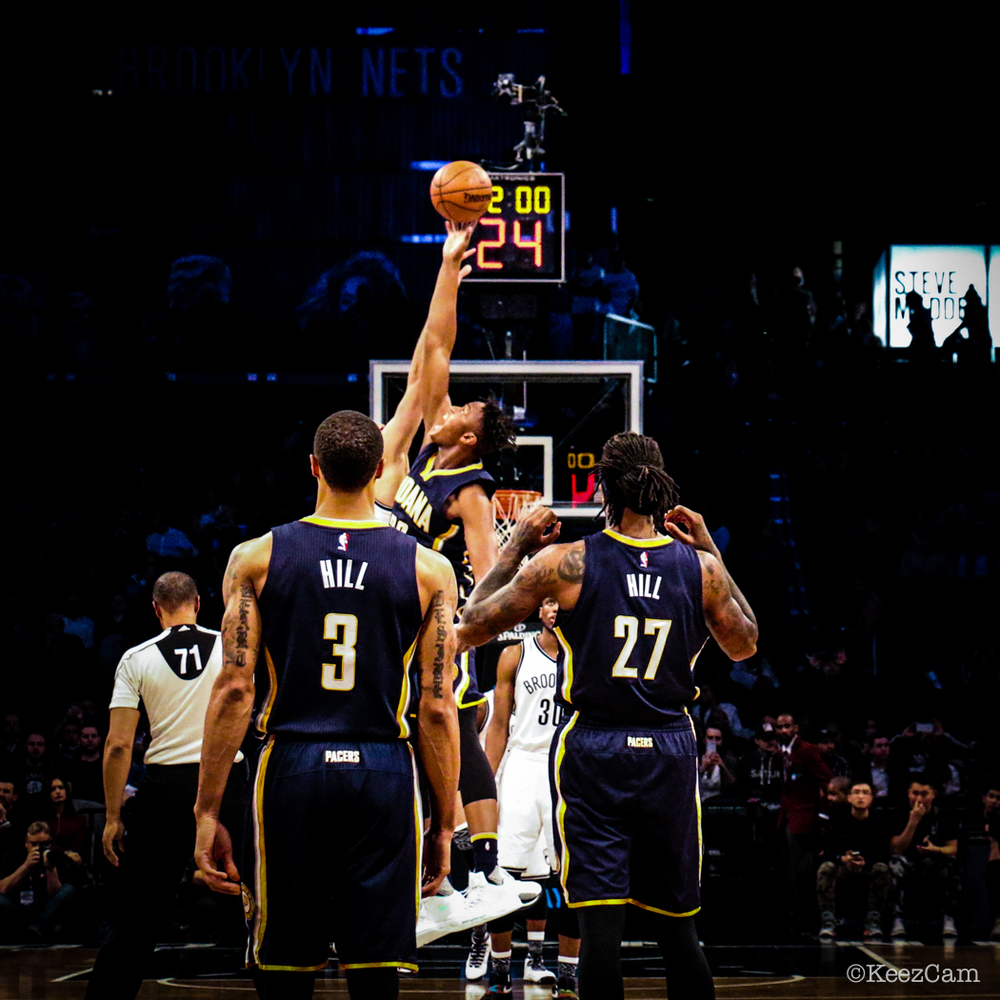 Indiana Pacers vs. Brooklyn Nets tipoff
