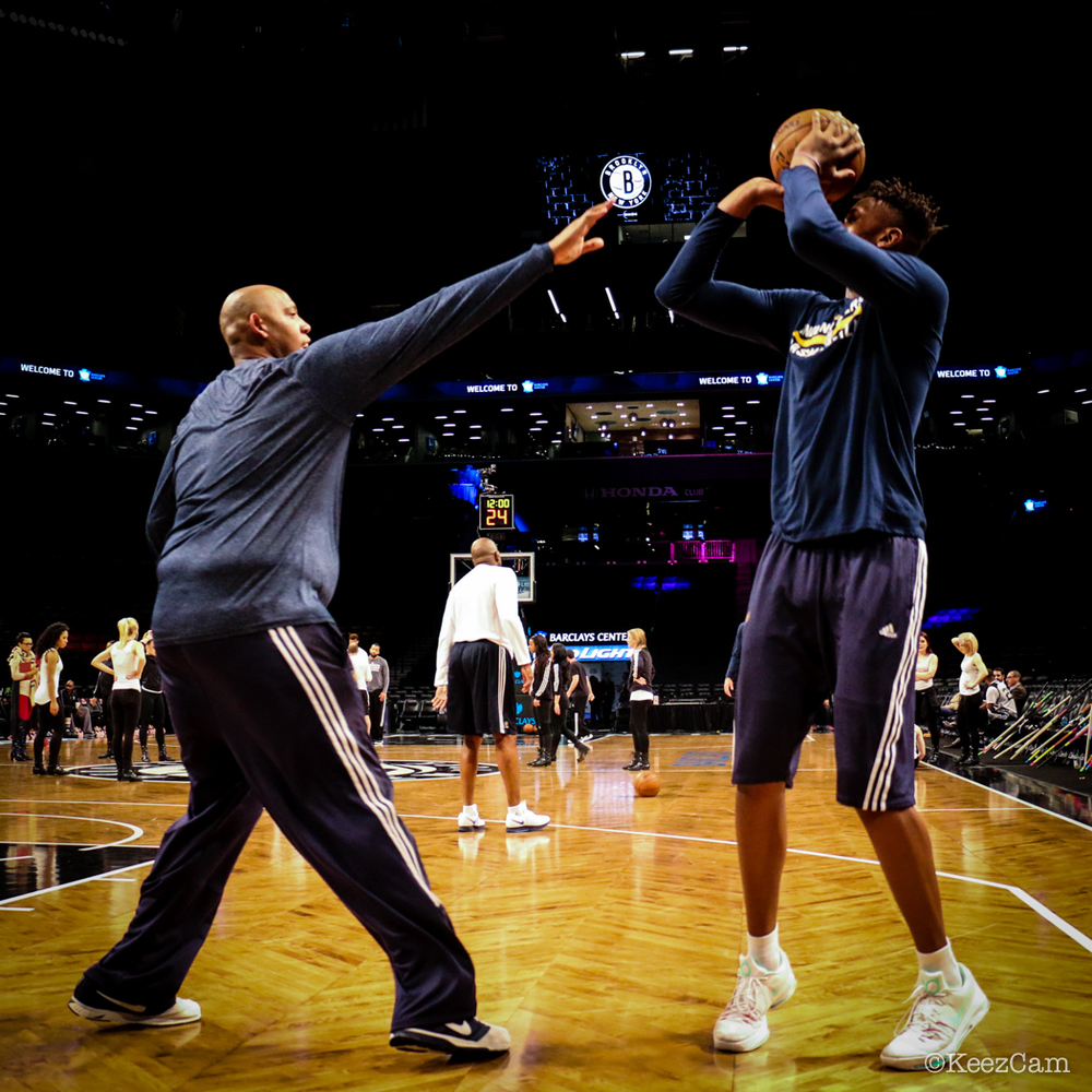 Popeye Jones & Myles Turner