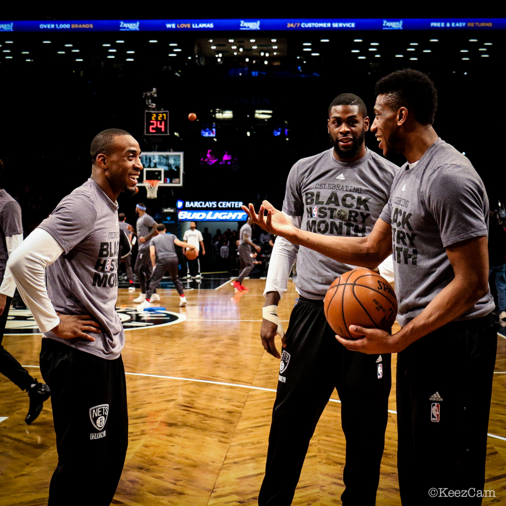 Markel Brown, Willie Reed & Thaddeus Young