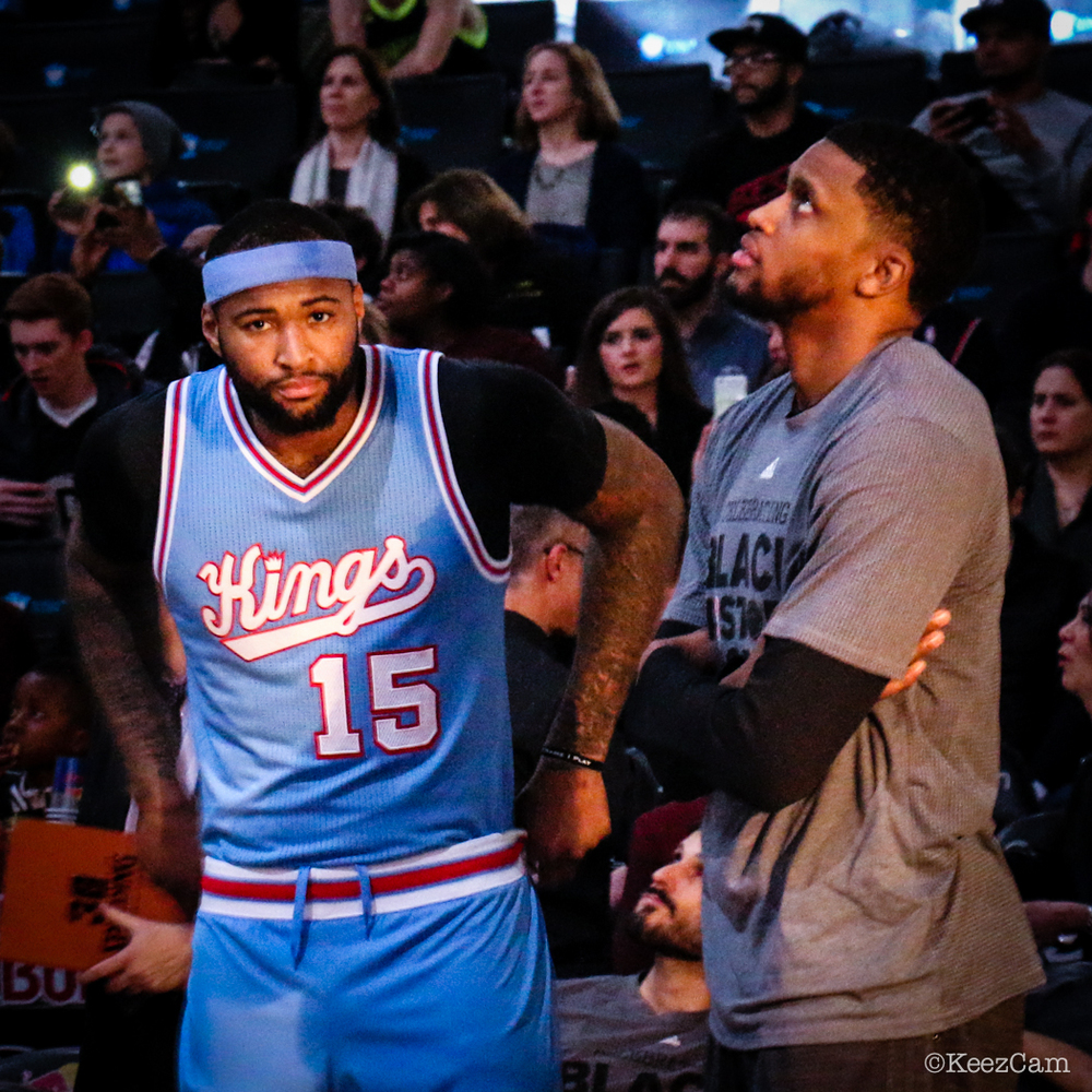 DeMarcus Cousins & Rudy Gay